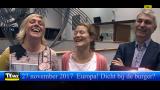 Staat Europa wel dicht bij de burger?